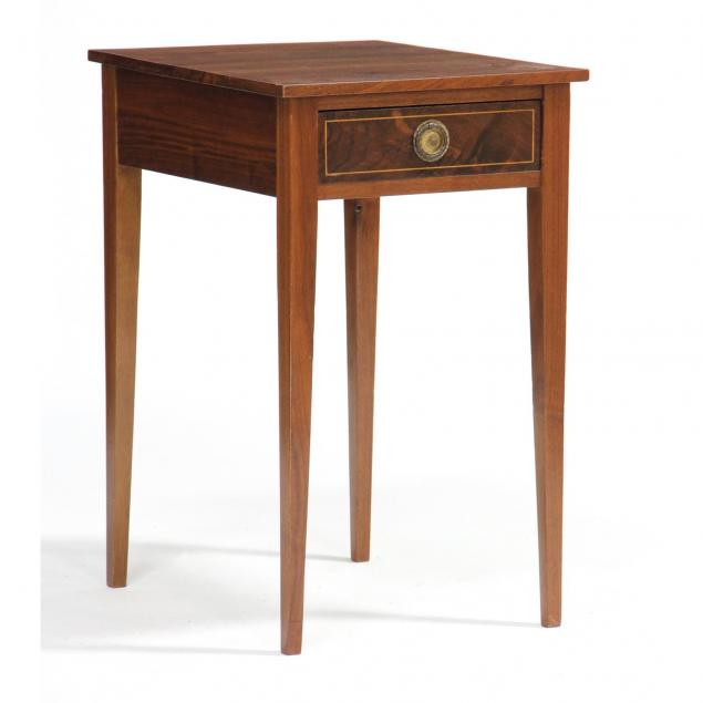 hepplewhite-inlaid-one-drawer-side-table