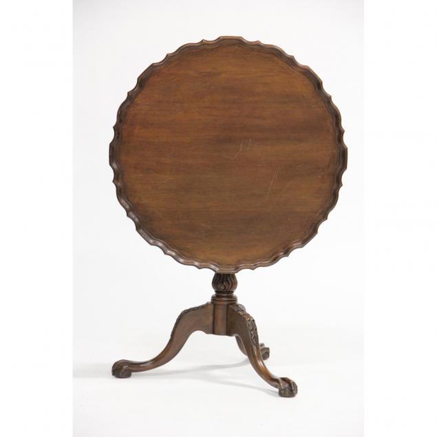 chippendale-style-pie-crust-tilt-top-tea-table