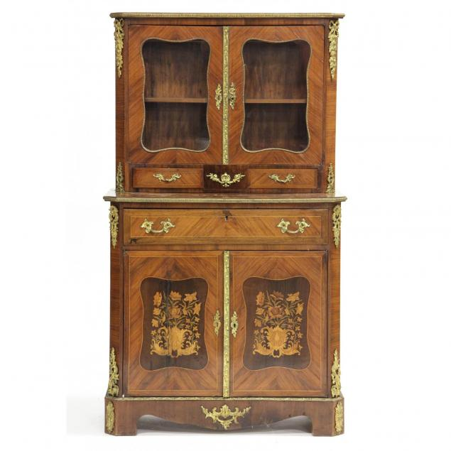 french-diminutive-secretary-bookcase