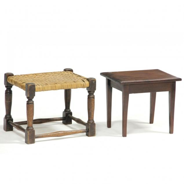 two-small-footstools