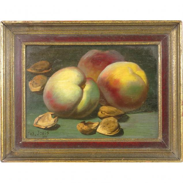 american-school-still-life-of-peaches-and-walnuts