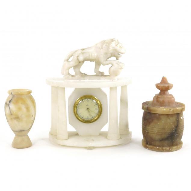 vintage-carved-alabaster-grouping