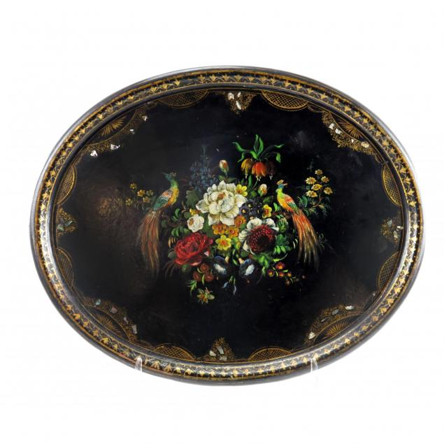 antique-mache-and-mother-of-pearl-serving-tray