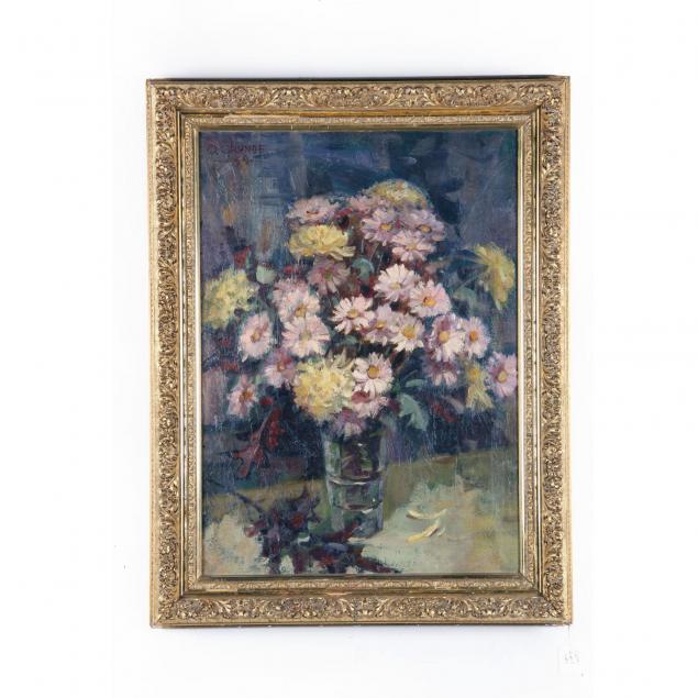 otis-grunde-20th-century-still-life-with-flowers