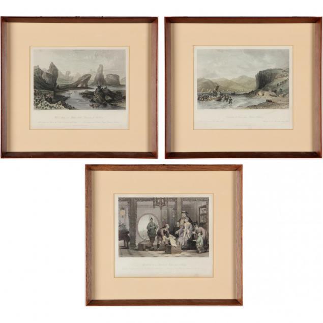 three-engravings-of-asian-scenes