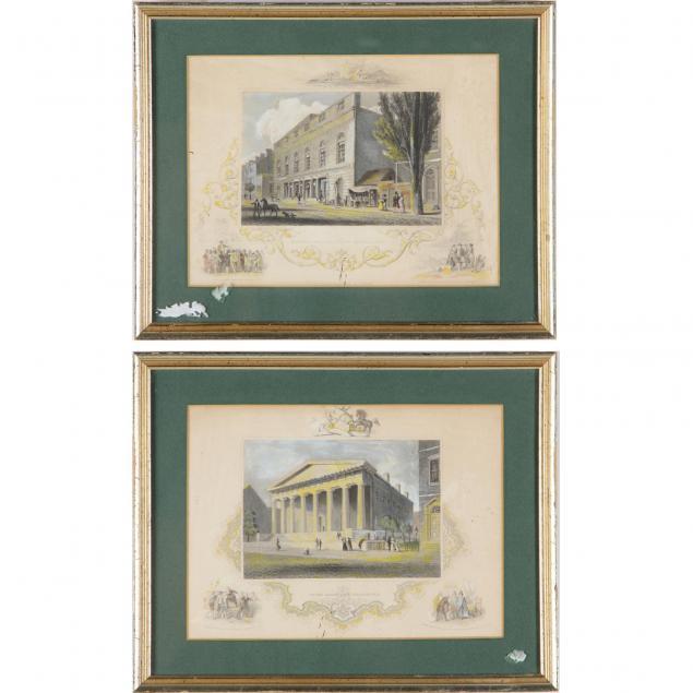 pair-of-framed-engravings-of-philadelphia