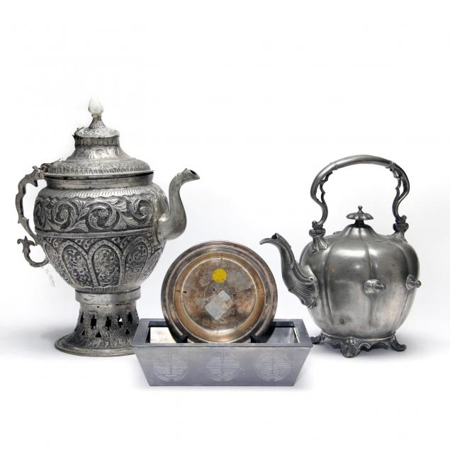 group-of-metalware-and-accessories