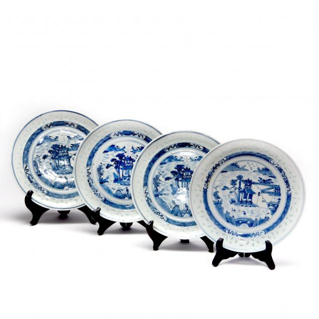 four-rice-carved-canton-plates