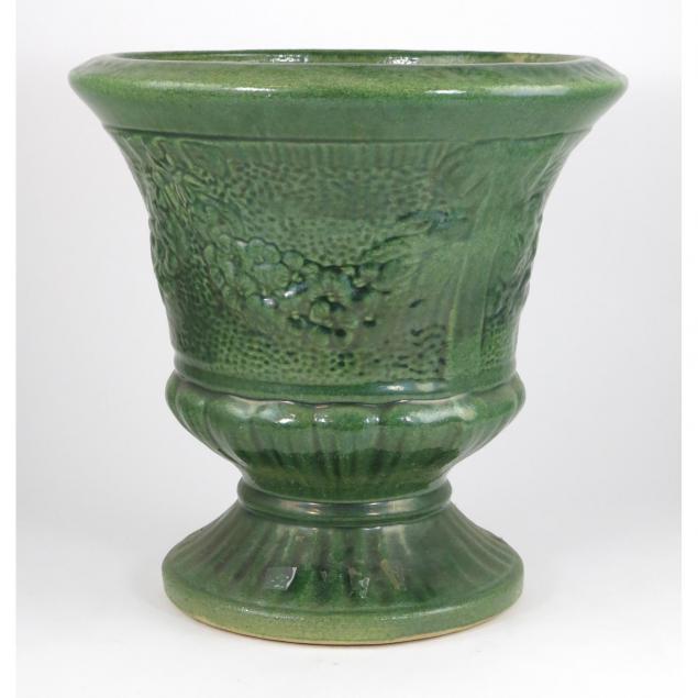 vintage-glazed-pottery-planter