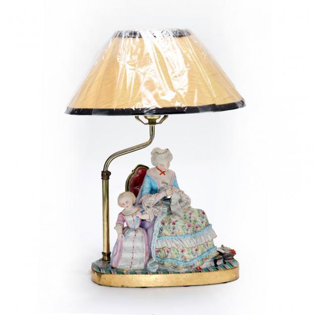 porcelain-figural-lamp