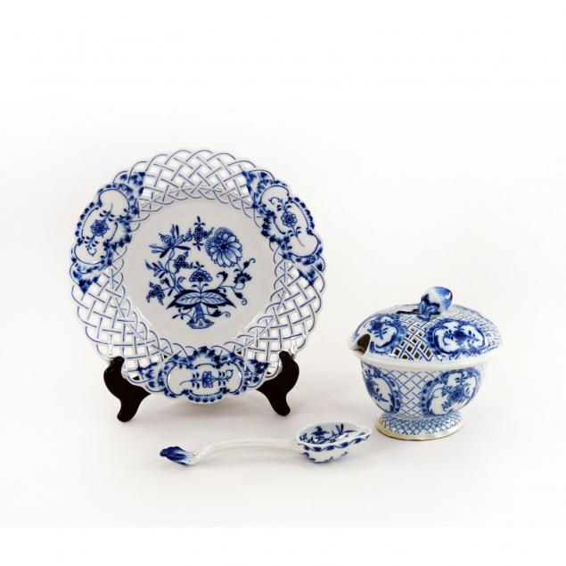 two-meissen-reticulated-porcelain-items