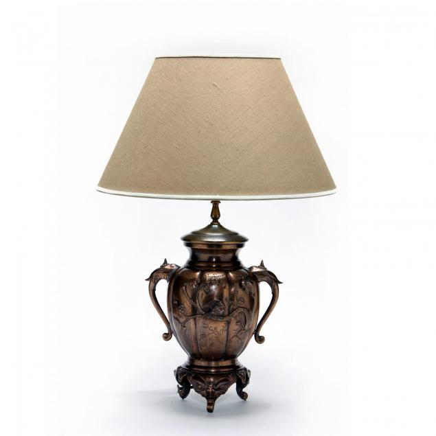 japanese-bronze-table-lamp
