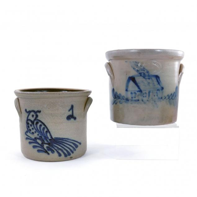 two-decorated-stoneware-crocks