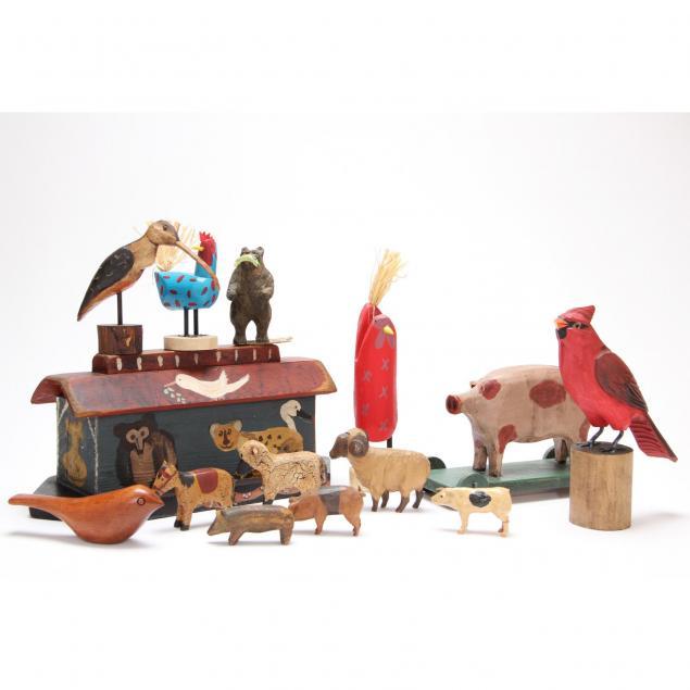 folk-art-ark-and-animals