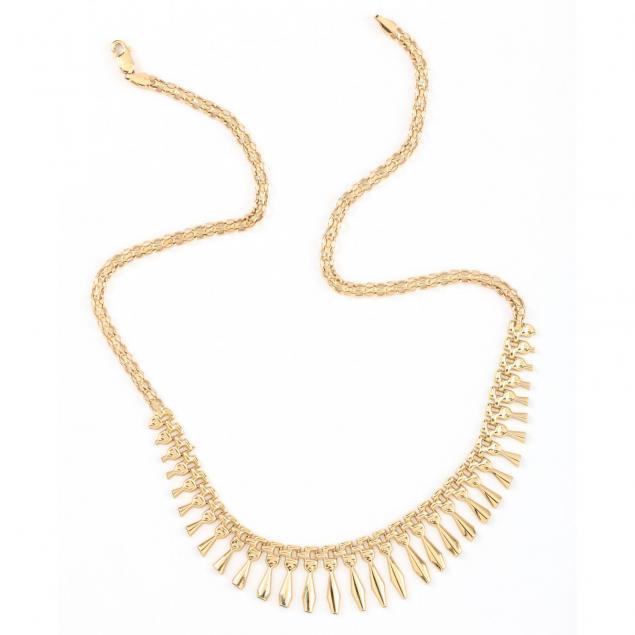 14kt-gold-fringe-necklace-italian