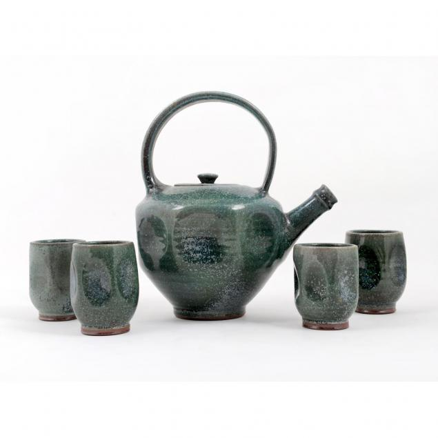 ben-owen-iii-five-piece-tea-set-patina-green