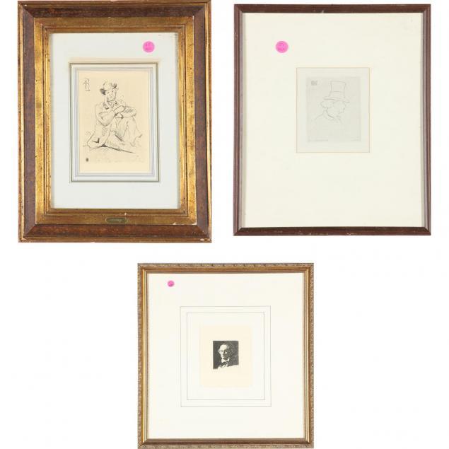 three-portrait-prints-from-the-impressionist-circle