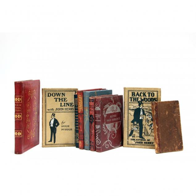nine-small-vintage-and-antique-books