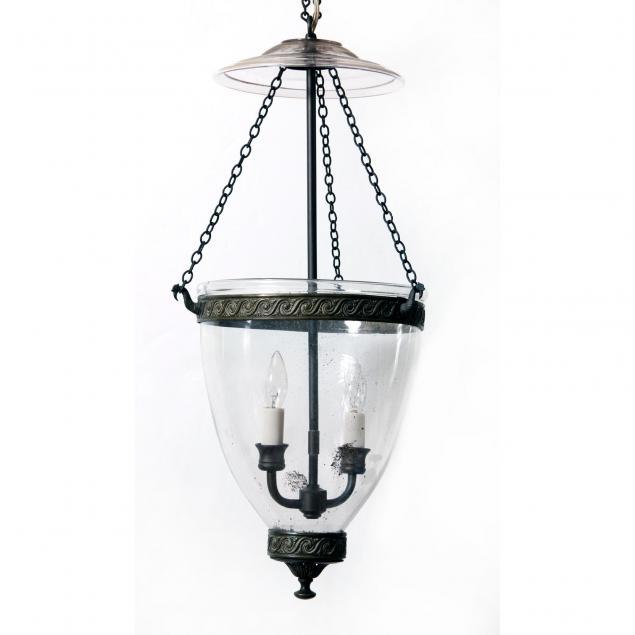 antique-smoke-bell-hanging-light