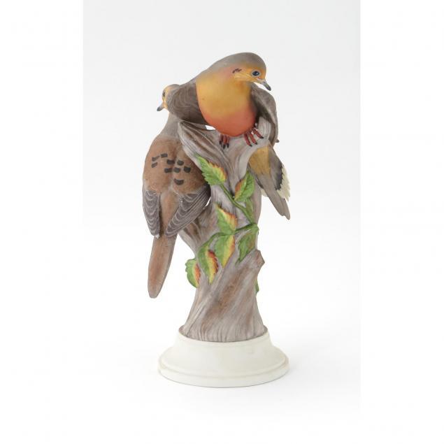 boehm-porcelain-mourning-doves-double-figural