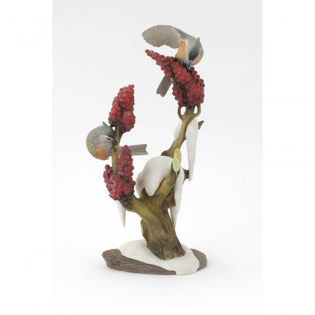 boehm-porcelain-tufted-titmouse-double-figural