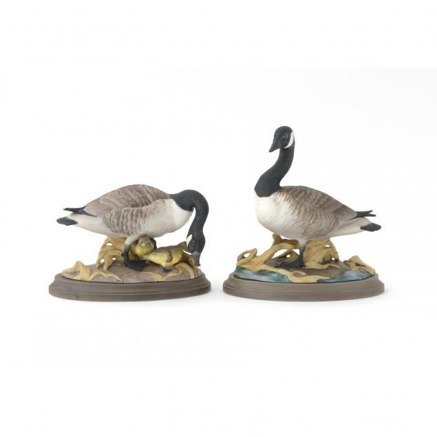 boehm-porcelain-canada-geese-pair