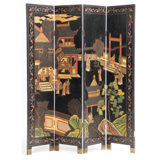 chinese-coromandel-four-panel-screen