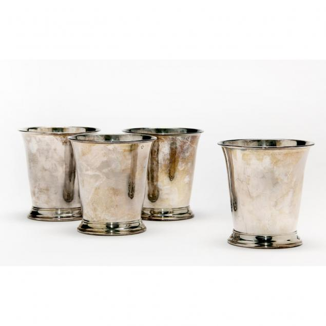set-of-four-silverplate-mint-julep-cups-colonial-williamsburg