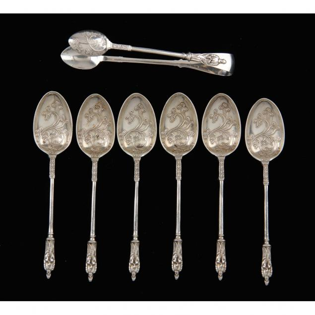 set-of-sterling-silver-apostle-spoons-by-mappin-webb