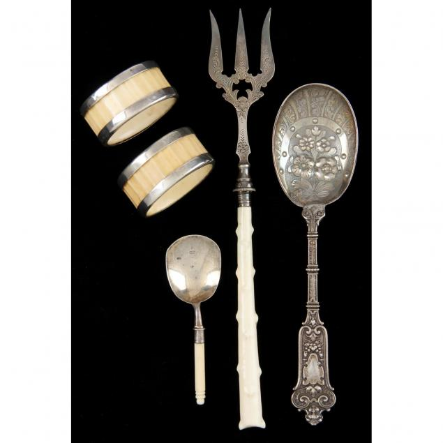 antique-english-silver-grouping