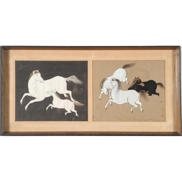 two-chinese-paintings-of-horses