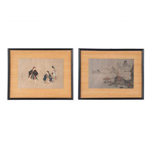 a-matched-pair-of-japanese-wood-block-prints