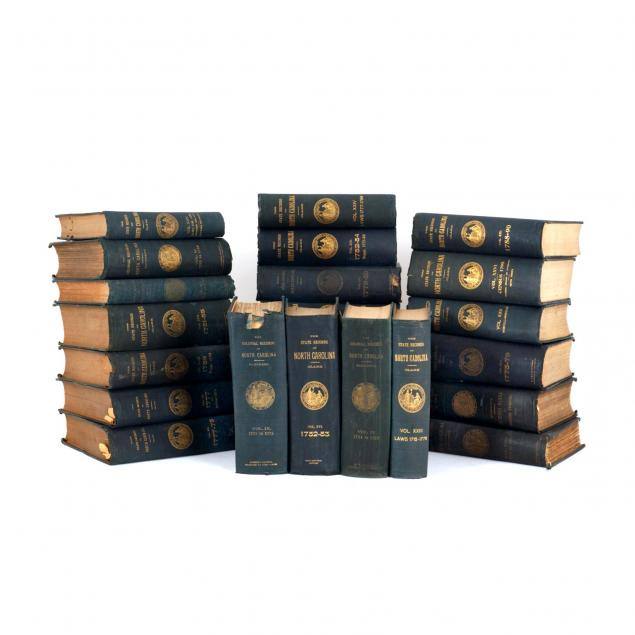 i-the-colonial-and-state-records-of-north-carolina-i-original-editions