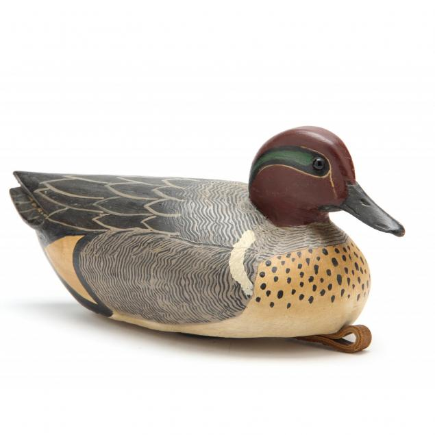 grayson-chesser-va-green-winged-teal-duck-decoy
