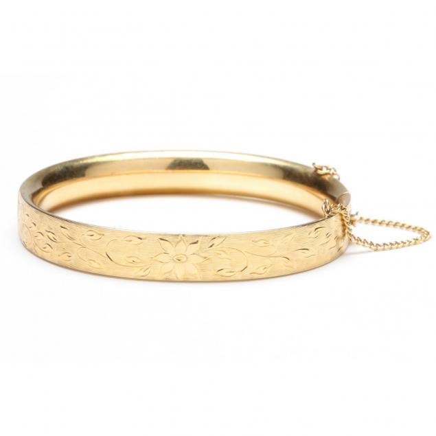 vintage-14kt-bangle-bracelet