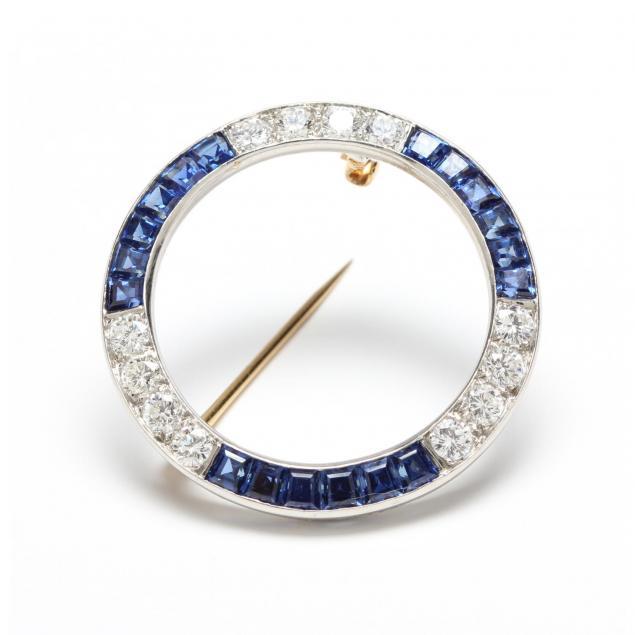 art-deco-platinum-diamond-and-sapphire-brooch-tiffany-co
