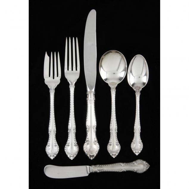 gorham-english-gadroon-sterling-silver-flatware-service