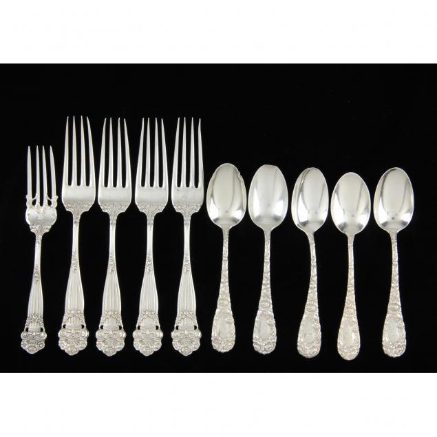 10-antique-american-sterling-silver-teaspoons-forks