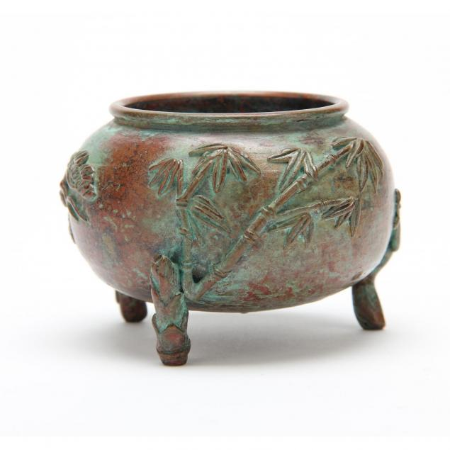 chinese-bronze-tripod-decorated-with-pine-bamboo-and-plum