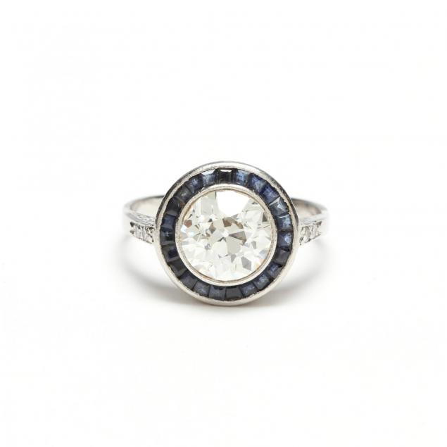 platinum-diamond-and-sapphire-ring
