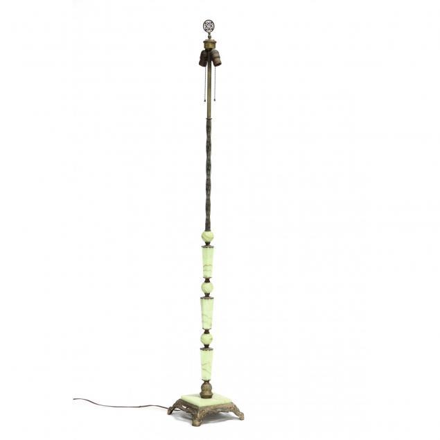 art-deco-slag-glass-floor-lamp