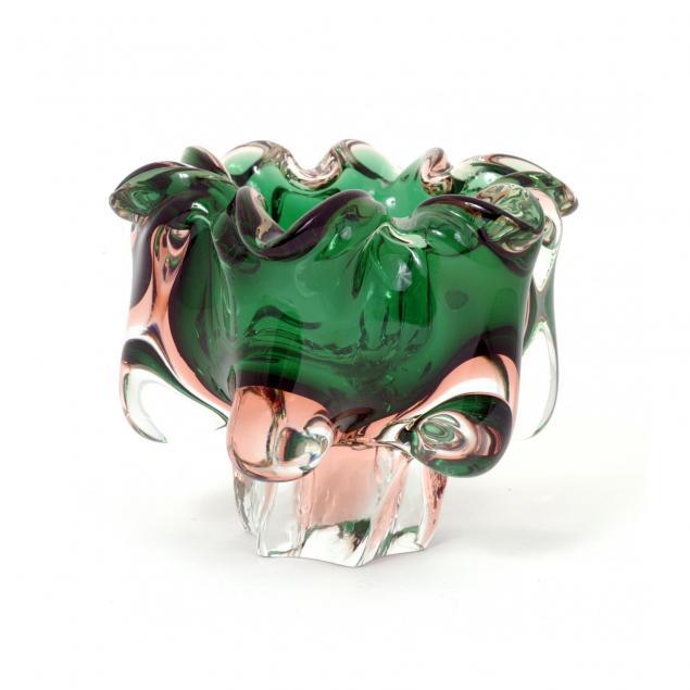 vintage-seguso-glass-bowl