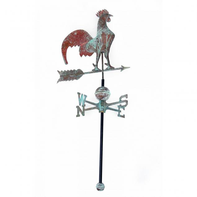 copper-hollow-bodied-rooster-weathervane