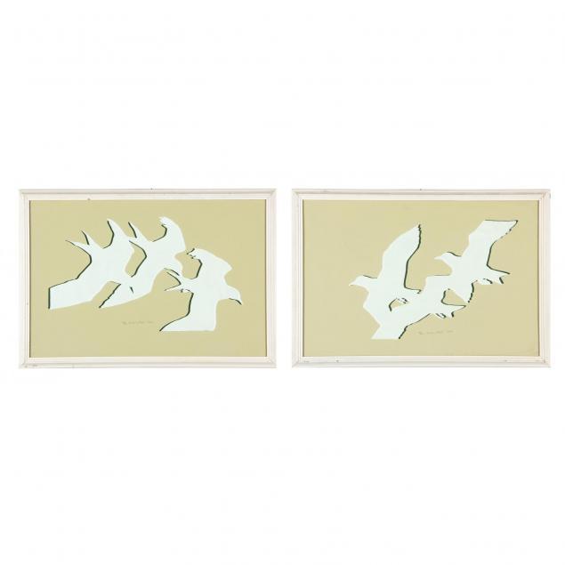 pair-of-woodcut-prints-titled-i-birds-in-flight-i