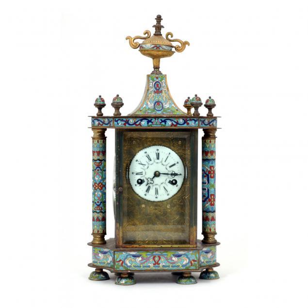 chinese-champleve-bracket-clock