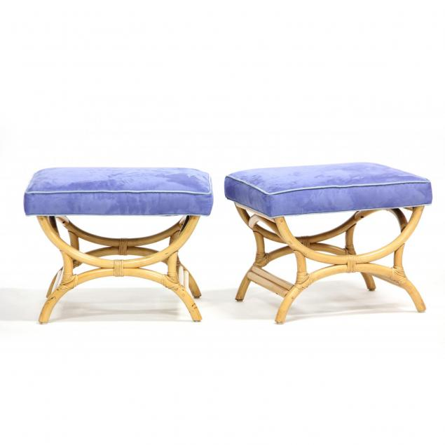 pair-of-bamboo-stools