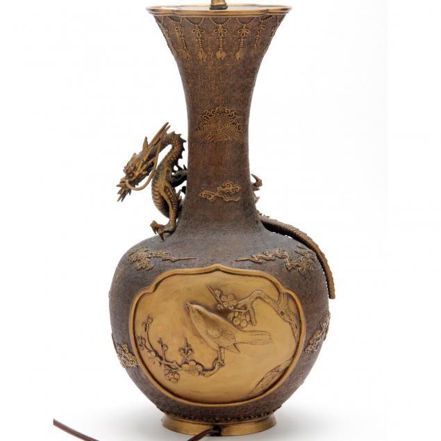 a-japanese-meiji-period-bronze-vase