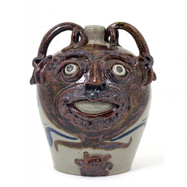 nc-folk-pottery-michel-bayne-face-jug