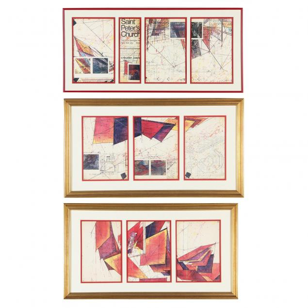 a-trio-of-prints-with-blueprint-motif