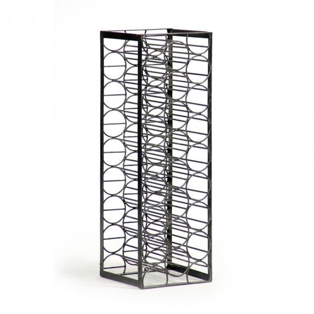 contemporary-industrial-iron-wine-rack